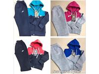 Kids girls boys Nike north face adidas Armani jogging tracksuit
