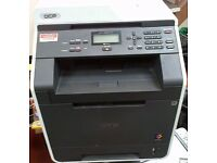 Brother DCP-9055CDN All-in-One COLOR Laser Printer,scanner,COPTER WITH FULL NEW TONERS