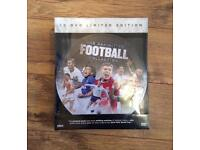 For sale football DVD collection new