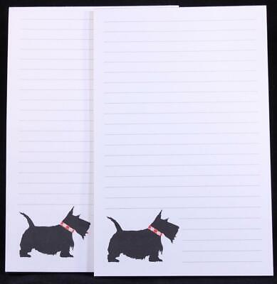 Two (2) Write-On Scottie Dog 50 Sheet Tablets Notepads. 12355
