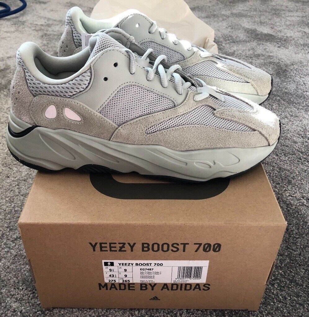 The Adidas Yeezy 700 Mauve is used for