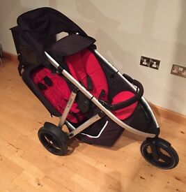 Phil & Ted Vibe stroller with doubles kit £200 Ono