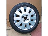 CORSA C Life ALLOY WHEEL & TYRE 185 55 R15 82V Vauxhall Opel 15 inch