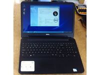 Dell inspiron 15 3521-1866, DC 1.8, 2gb ram, 320gb hard drive on windows 7 pro with new battery