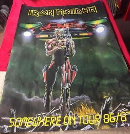Iron Maiden tour poster 1986