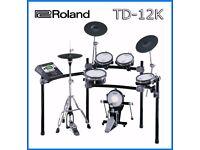 Roland TD-12K VH-11 hihat V Drums kit & 7 V Expressions packs FULL MESH Classic not TD-11 td25