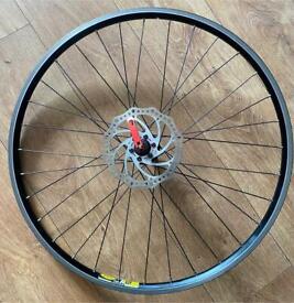 "Mountain bike 26"" front disc wheel"