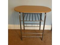 """Free standing Kitchen Work surface area or craft table H29.5""""/75cm W32""""/81cm D21""""/54cm"""