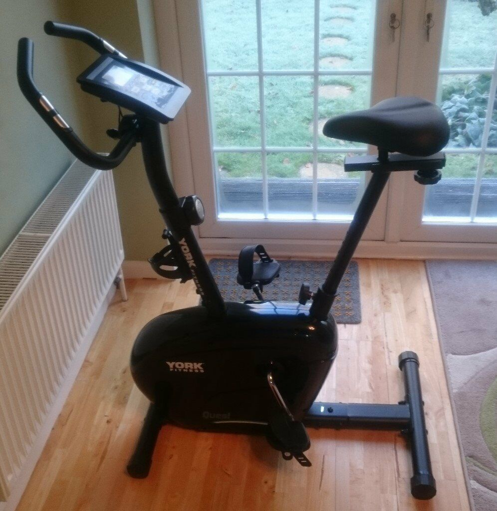York Fitness Quest Exercise Cycle 53067 With Manual