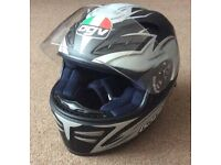 AGV Stealth Full Face Motorcycle Helmet XS