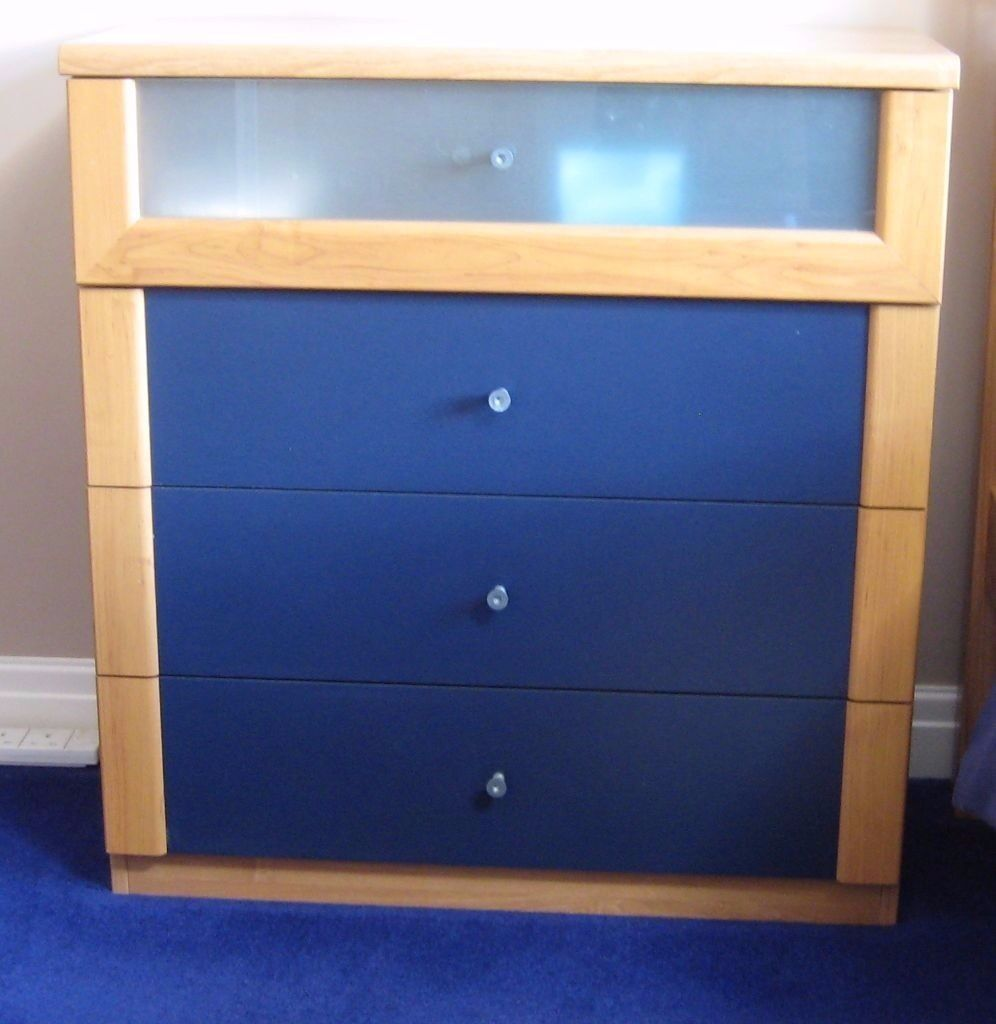 ikea askedal 4 drawer chest of drawers free matching bedside cabinet in ilkeston