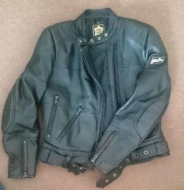 Polo leather ladies jacket