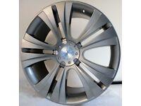 "Brand New Team Dynamics Vouge Alloy Wheels 22""Chrysler 300c Jeep Dodge Mercedes Range Rover BMW"
