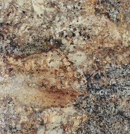"1 New Bushboard Nuance ""Golden Mascarello"" Worktop 3050mm x 600mm x 30mm (10ft x 2ft)"