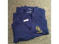 Lucas Vale school cardigans bundle - perfect condition