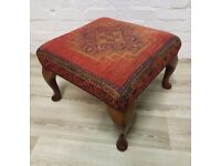 Stuart Jones Footstool (DELIVERY AVAILABLE FOR THIS ITEM OF FURNITURE)