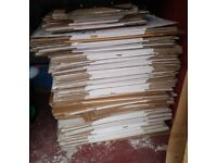 Over 100 Cardboard House Removal Moving Boxes