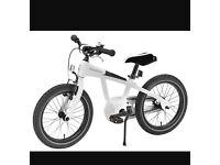 "Boys white 16"" Mercedes bike,in new condition"