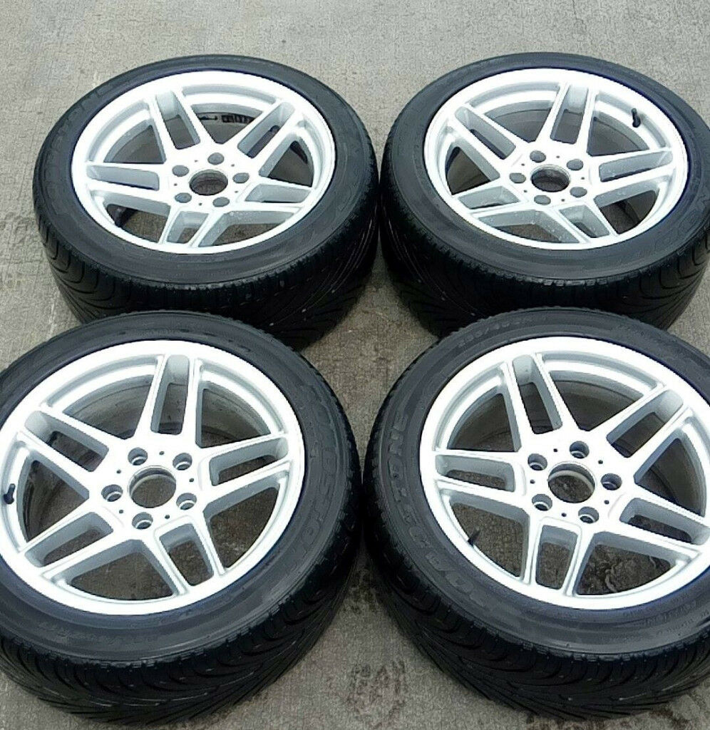 17'' Genuine AC Schnitzer Type III Alloys & Tyres, Staggered, Concave, BMW