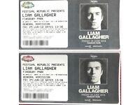 Liam Gallagher tickets x 2 Finsbury Park 29th June - £80