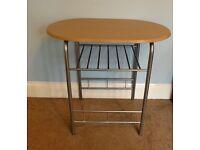 "Craft Table H29.5""/75cm W32""/81cm D21""/54cm"