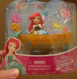 New Packaged Disney Princess Doll Little Kingdom Ariel's Floating Dreams Only £5 ideal gift
