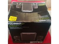 2.1 stereo speakers, SUB. TECHNIKA in original box and instructions.