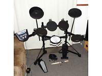 ROLAND V Drums TD-6V V EXpressions upgraded electronic drum kit mesh snare - excellent
