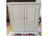 Solid pine tv cabinet cupboard sideboard