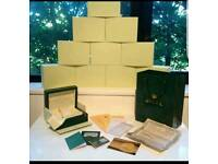 Rolex wave box complete with paperwork certificate £45 2 for 80