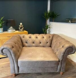 Next Chesterfield Cuddle chair