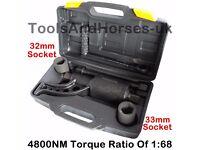 "NEW - 1"" Torque Multiplier HGV Wheel Nut Remover Torque Multiplying Wheel Brace Wrench"