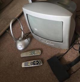 Philips TV With Freeview and Ariel