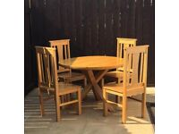 Trinity dining table chairs