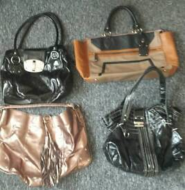 14 handbags for £10 job lot