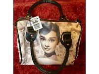 Audrey Hepburn fashion handbag (small)