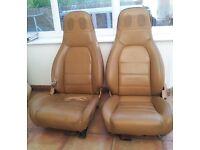 MX5 Mk1 Tan Leather Seats