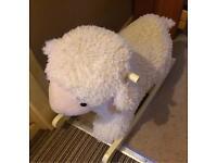 Lamb rocking toy (never used)