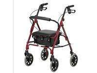 Walking rollator. Used twice in excellent condition. £35
