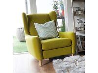 MADE armchair RUBEN £250 Great condition