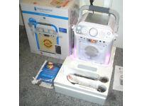 Karaoke Disco Singing Machine Bluetooth CD+G BRAND NEW SML682BTBK