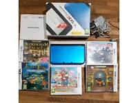 Nintendo 3DS.XL with games