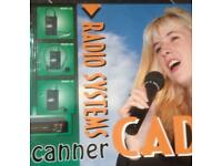 The scanner cadet radio microphone,boxed £20