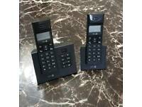 Doro Twin Pack Telephone and Answer Machine