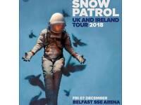 Snow Patrol tickets x 2