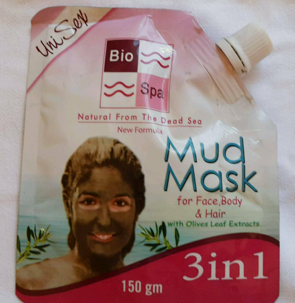 Dead Sea Xmas gift 3 in 1 Mud Mask