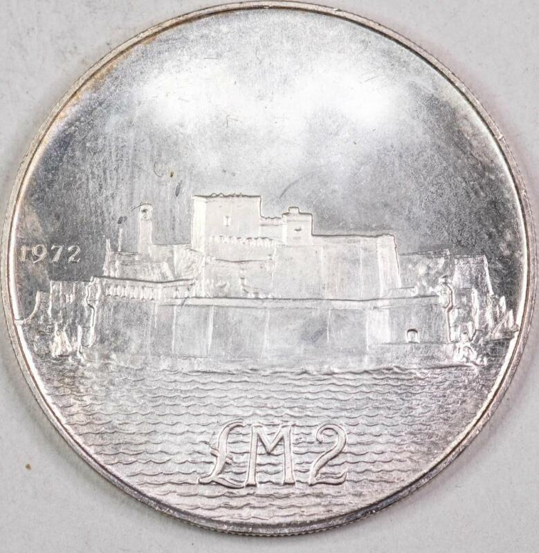 Malta 1972 2 Pounds BU - Unc #2462