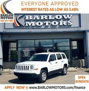 2015 Jeep Patriot Sport/North*EVERYONE APPROVED* APPLY NOW DRIVE