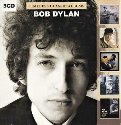 Bob Dylan 5 Albums [inc. Finjan Club In Montreal July 2 1962] (5 CD) NEW SEALED