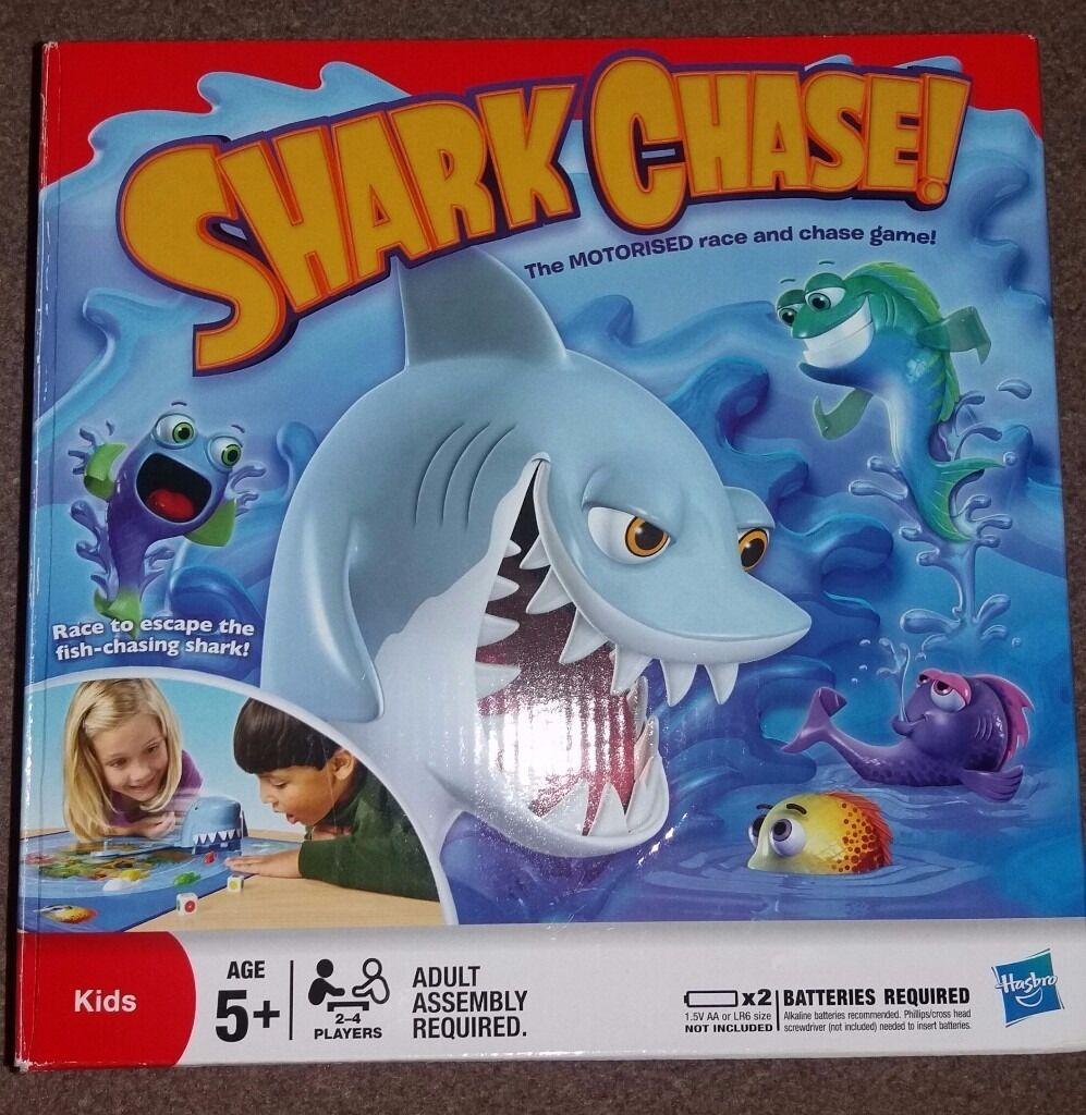 Shark Chase board game